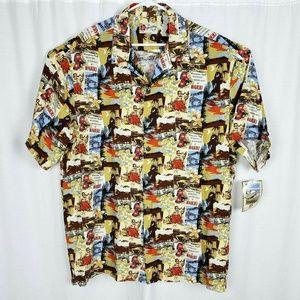 NEW Hilo Hattie Hula Girls Hawaiian Shirt